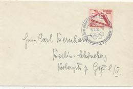 GARMISCH-PARTENKIRCHEN - 1936 , Olympiade , Skiflieger - Deutschland