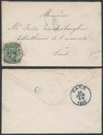 AK425 Lettre De St Nicolas à Gand 1882 - Non Classés
