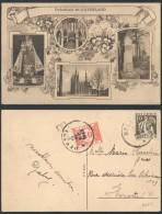 AK446 Carte Postale Taxée Vers Herstal 1933 - Erinnerungskarten