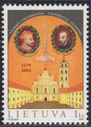 Lithuania. Lituania. Litauen. 2004. 425th Anniversary Of Vilnius University.  MNH**