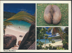°°° 1143 - SEYCHELLES - VIEWS - 1993 With Stamp °°° - Seychelles