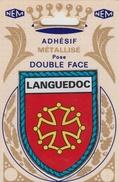 CPM Blason Adhésif Languedoc