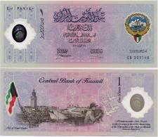 KUWAIT     1 Dinar    Comm.     P-CS2      26.2.2001            UNC - Kuwait