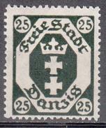 DANZIG    SCOTT NO. 67     MNH       YEAR  1921 - Danzig