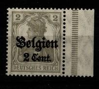 Belgien,10,rechts Dgz,xx - Besetzungen 1914-18