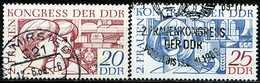 DDR - Michel 1474 / 1475 - OO Gestempelt (A) - Frauenkongreß