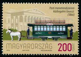 XF0737 Hungary 2016 Early Wagon 1v MNH