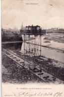 35 - Ille Et Vilaine - SAINT MALO  -  Le Pont Roulant A Marée Basse