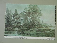 ETATS-UNIS NY NEW YORK LONG ISLAND HISTORIC HOME SWEET HOME ....JOHN HOWARD PAYNE ...LOCATED IN EAST HAMPTON......
