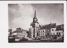 27 Nonancourt L' église Saint Martin Place Aristide Briand  Vieilles Voitures Citroen 2 Cv Edit Estel N° 15.807- R
