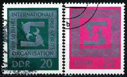 DDR - Michel 1517 / 1518 - OO Gestempelt (A) - 50 Jahre IAO