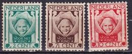 1924 Kinderzegels Serie Ongestempeld NVPH 141 / 143 - 1891-1948 (Wilhelmine)