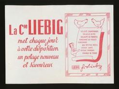 Buvard  -  Consommé De Poulet - LIEBIG - Soups & Sauces