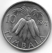 *malawi 10 Tambala 1971  Km 10.1  Unc !!!!!! - Malawi