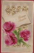 Card Kaart Gelukkig Nieuwjaar Celluloid Happy New Year Bonne Annee Nieuwjaarskaart - Announcements
