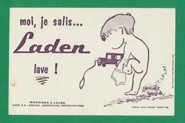 Publicite - Buvard - LADEN - Buvards, Protège-cahiers Illustrés