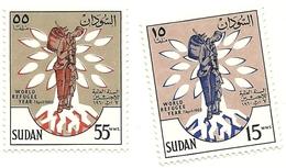 1960 - Sudan 125/26 Anno Del Rifugiato, - Sudan (1954-...)