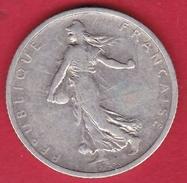 France 1 Franc Semeuse Argent 1898 - France