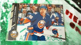 RARE NIKOLA KULEMIN 2015 NHL HOCKER COLLECTABLE ORIGINAL CARD HOLOGRAM STICKER UPPER DECK - Singles
