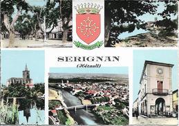 CPSM - SERIGNAN - Multivues - France