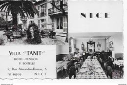 CPSM De NICE - Villa TANIT - Cafés, Hotels, Restaurants