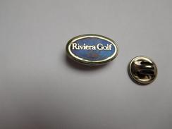 Beau Pin's En EGF , Riviera Golf Club , Mandelieu ?? , Signé Cosiro - Golf
