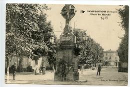 Tocane Saint Apre Place Du Marché (calvaire) - France