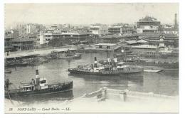 DC 400 - Port-Said - Canal Docks. - LL 32 - Port Said