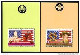 ST-VINCENT 1986, SCOUTS, 2 Blocs, Neufs / Mint. R531