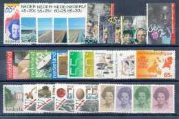 Pays-Bas 1981, Année Complète, SC, */mh, C:+30e