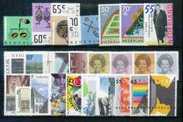 Pays-Bas 1986, Année Complète, SC, */mh, C:36,5e