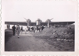 26111 Trois Photo Erquy (22 France ) -accident D'avion à Saint Pabu 28 Aout 1938 -Rennes 35 - Avion Capotage