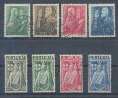 Portugal 1946-48, Dents à Vérifier, 2 Séries Complètes , Vierge Et St Joao De Brito, Religion, C:10e