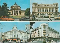 Cartolina Bucuresti , Ateneul Roman- L'athenee Roumain..- Romania - Romania