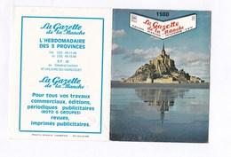 """Calendrier Petit Format 1980 """"La Gazette De La Manche"""" TBE - Calendriers"""
