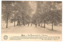Spa - La Promenade De 7 Heures - Edit. Desaix - 1920