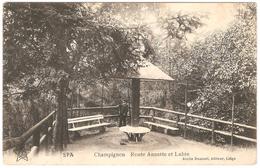 Spa - Champignon - Route Annette Et Lubin - Edit. Emile Dumont, éditeur, Liège - 1919