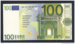 "Test Note ""neutral"" Testnote, POLYMER, 100 EURO, Typ C, 110 X 59 Mm, Training, RRR, UNC, Billet Scolaire - EURO"