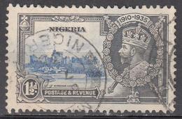 NIGERIA     SCOTT NO. 34    USED     YEAR  1935 - Nigeria (...-1960)