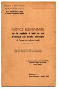 Secrétariat D'état à La Guerre . NOTICE ELEMENTAIRE Sur La Conduite à Tenir En Cas D'attaque Par Bombe Atomique 1952 - French