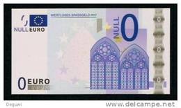 Test Note? Factice-fictif-Scherz, 0 EURO, Beids. Druck, RRR, UNC, Ca. 132 X 70 Mm - EURO
