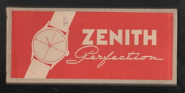 Zenith Orologi Watches Scatola Box Zenith Perfection Anni 60 - Jewels & Clocks