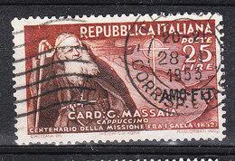 Trieste A   -   1952. Cardinale Massaia. - 7. Triest
