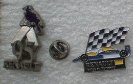 RENAULT 95 & VENTE AU PERSONNEL 2 PIN'S                 AAAA  013 - Renault