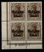 Belgien,11aI,4450.17,xx,+ Links Dgz - Besetzungen 1914-18