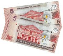 SURINAME 5 DOLLARS 2004 P-157a NEUF PAIRE (2 PCS) [SR540a] - Surinam