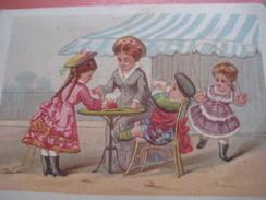 1 Card Litho C1875 Print Testu & Massin - Cat.SOR. TM32-72_7 - Place Clichy - Scottisch Child 9,8cmX7cm - Chromos