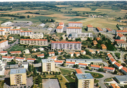 St-Maixent-l'Ecole.. Belle Vue Aérienne De La Ville L'Ecole Militaire Militaria - Saint Maixent L'Ecole