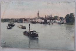 CPA Début 1900 Tamise Vue Sur L'Escaut  Temsche Zicht Op De Schelde - Temse