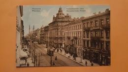 Pologne - Warszawa - Marszalkowska Ulica - Tramways - Superbe état - Pologne